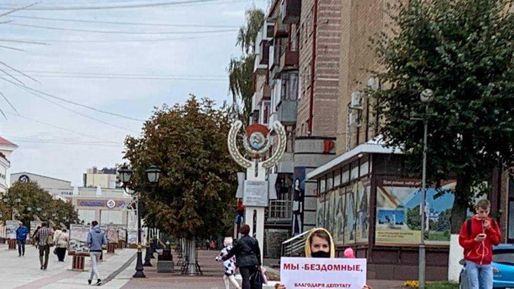 Обманутые дольщики взяли за горло брянского депутата Драникова