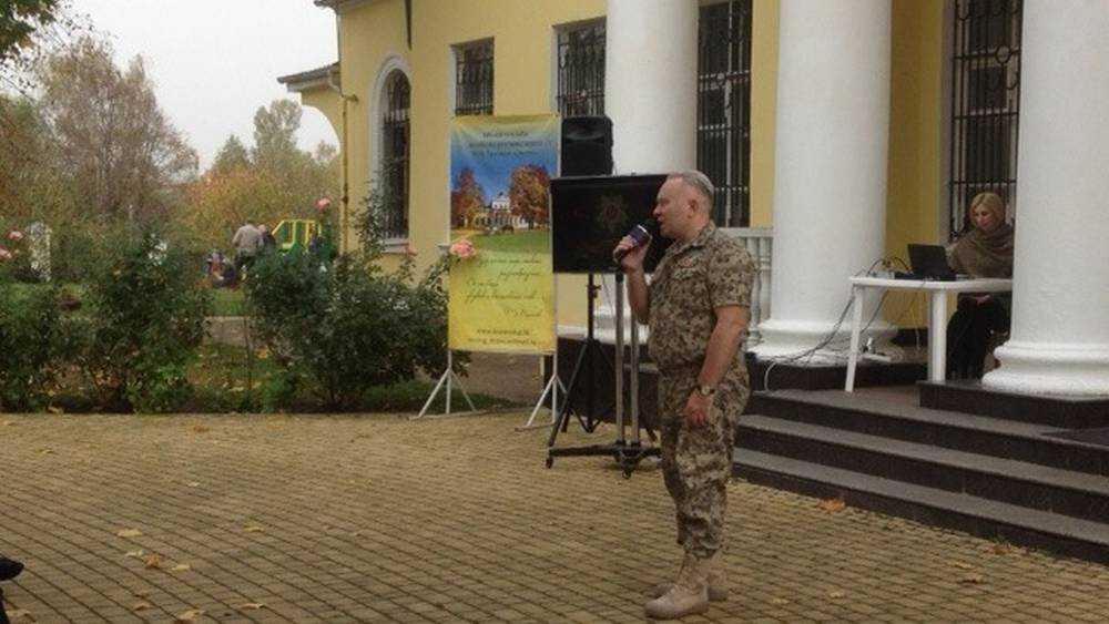 В Овстуге выступил бывший начальник музея ФСБ Николай Берсенёв