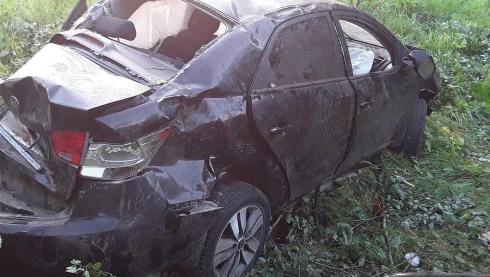 На сельской дороге в Жирятинском районе легковушка вылетела в кювет