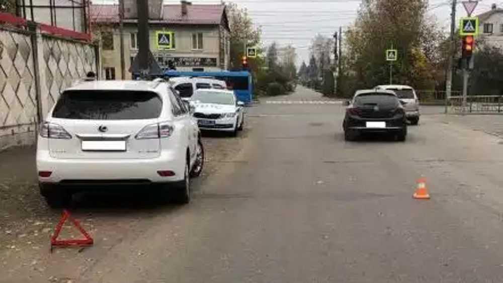 В Брянске водитель «Лексуса» сбил выбежавшего на дорогу пешехода