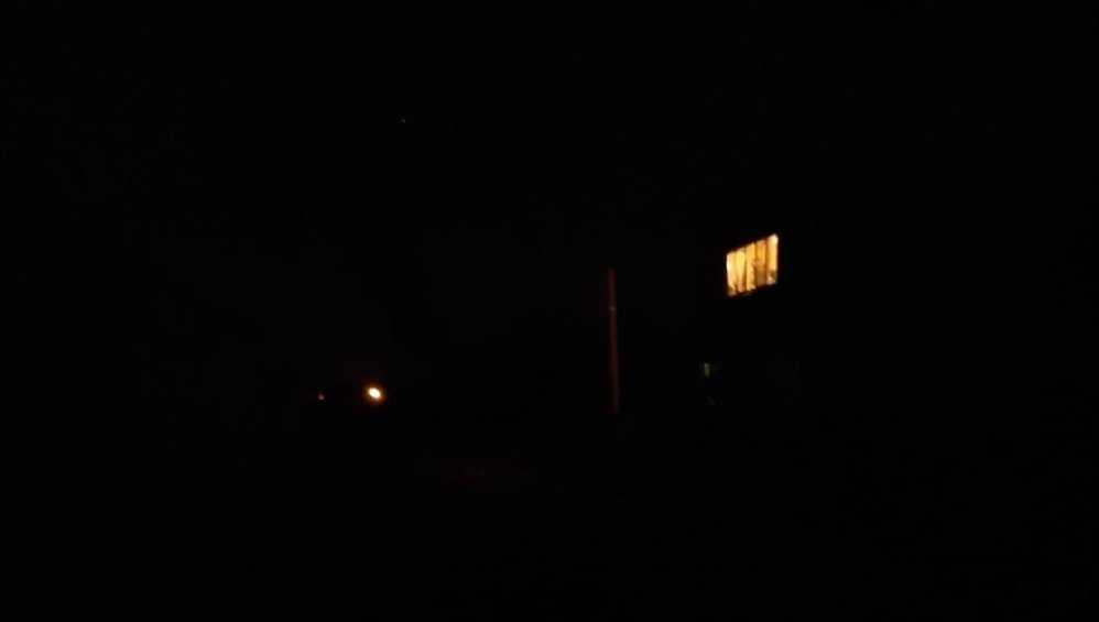 Жителей Брянска возмутил мрак в посёлке Белые Берега