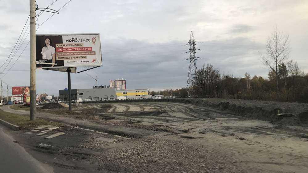 В Брянске возле Metro ускорили строительство кольца для новой дороги