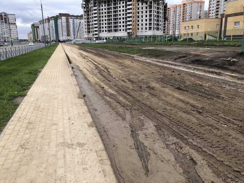 стройка грязь