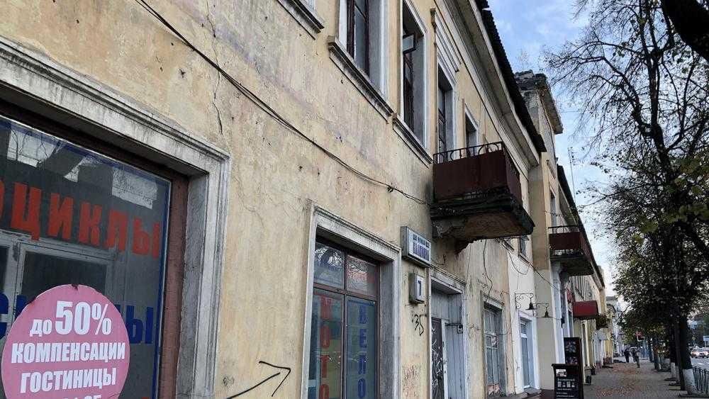 В Брянске возникла угроза уничтожения старых домов на улице Калинина