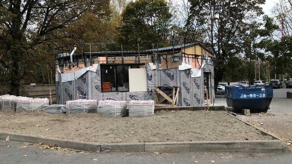 В Брянске восстало из пепла кафе Аязыча возле «Макдоналдса»