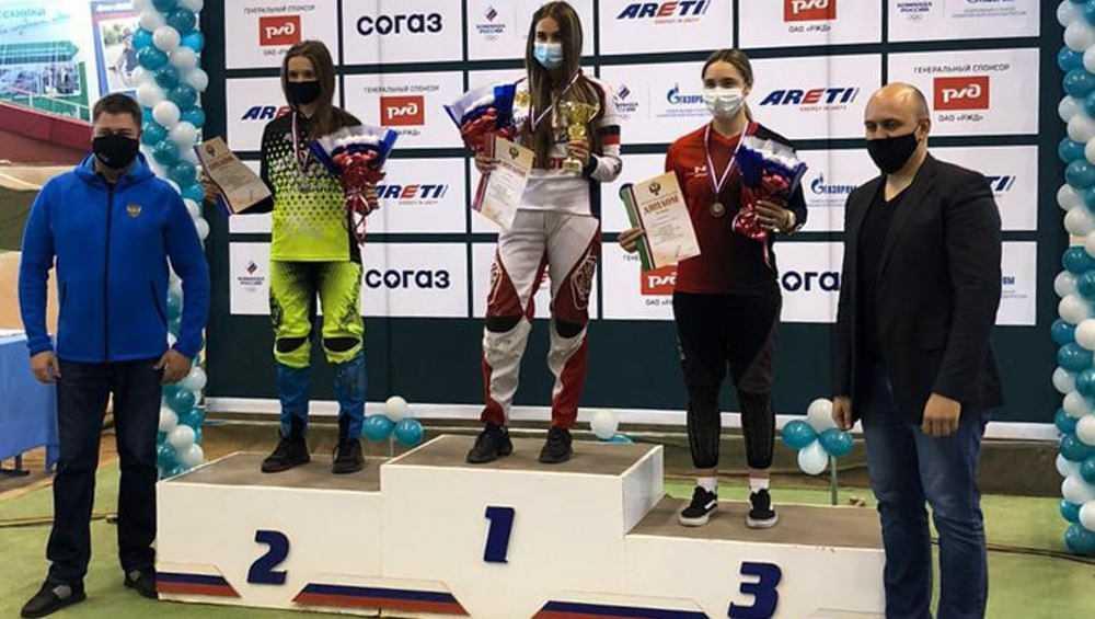 Брянская велогонщица получила «бронзу» Кубка России
