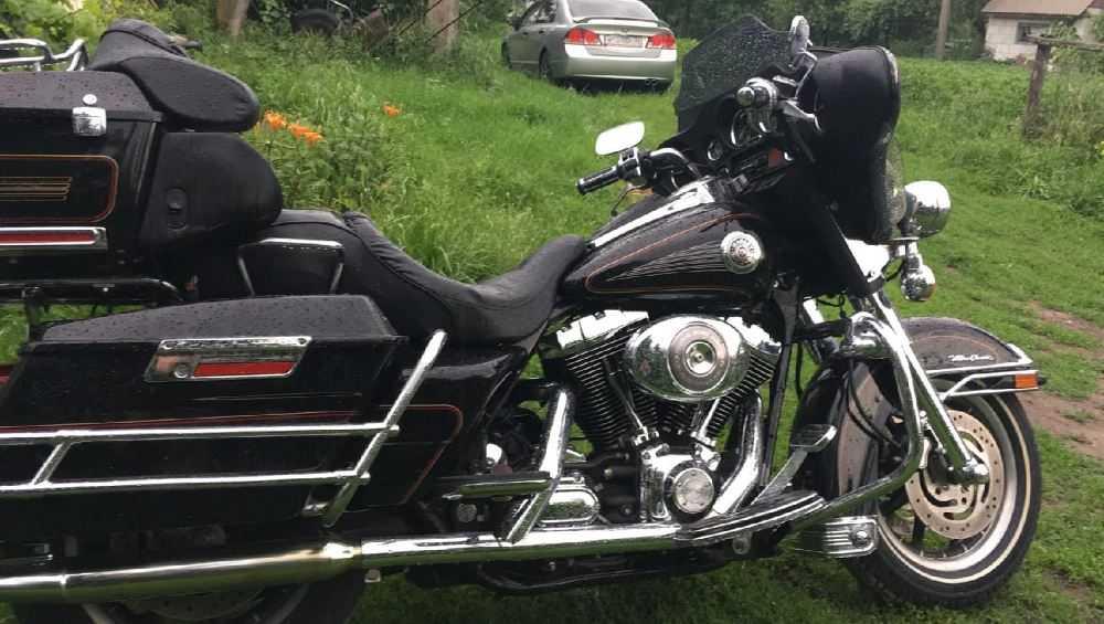 В Брянске угнали легендарный мотоцикл «Харлей Дэвидсон»