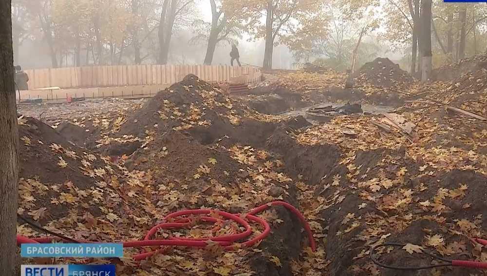 Реконструкция парка в Локте стала источником новых легенд