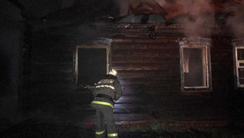 В стародубском селе в сгоревшем доме погиб 27-летний мужчина