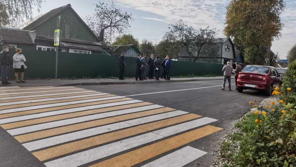 Отремонтированную дорогу на улице Правды в Брянске сдадут на днях