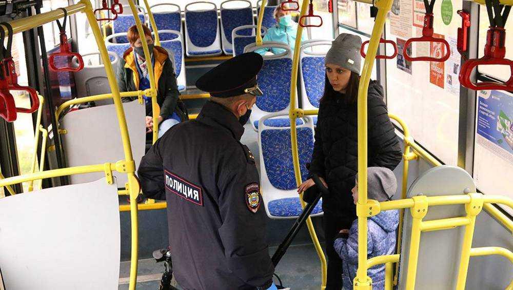 В Брянске составили еще 80 протоколов за нарушение масочного режима
