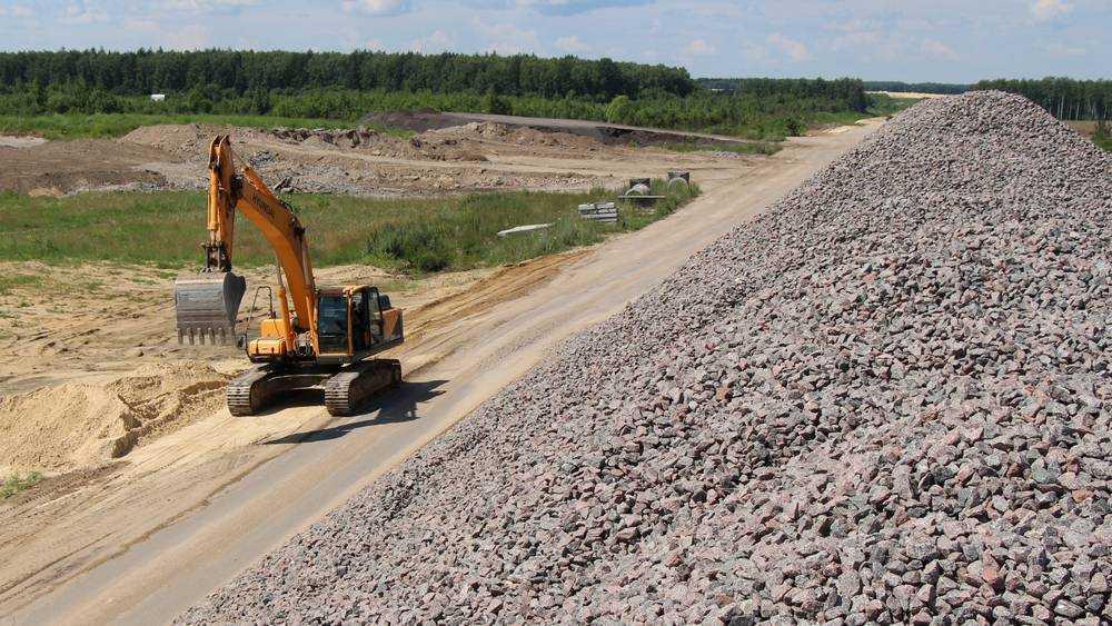 Брянская область увеличит закупки щебня в Белоруссии