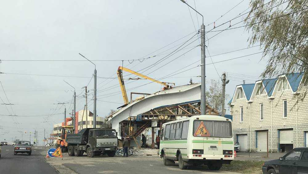 В Брянске до конца года должны расширить до 6 полос дорогу на Городище
