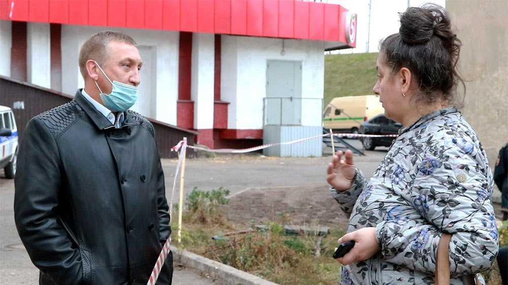 Аварийные дома начали сносить на Московском проспекте в Брянске