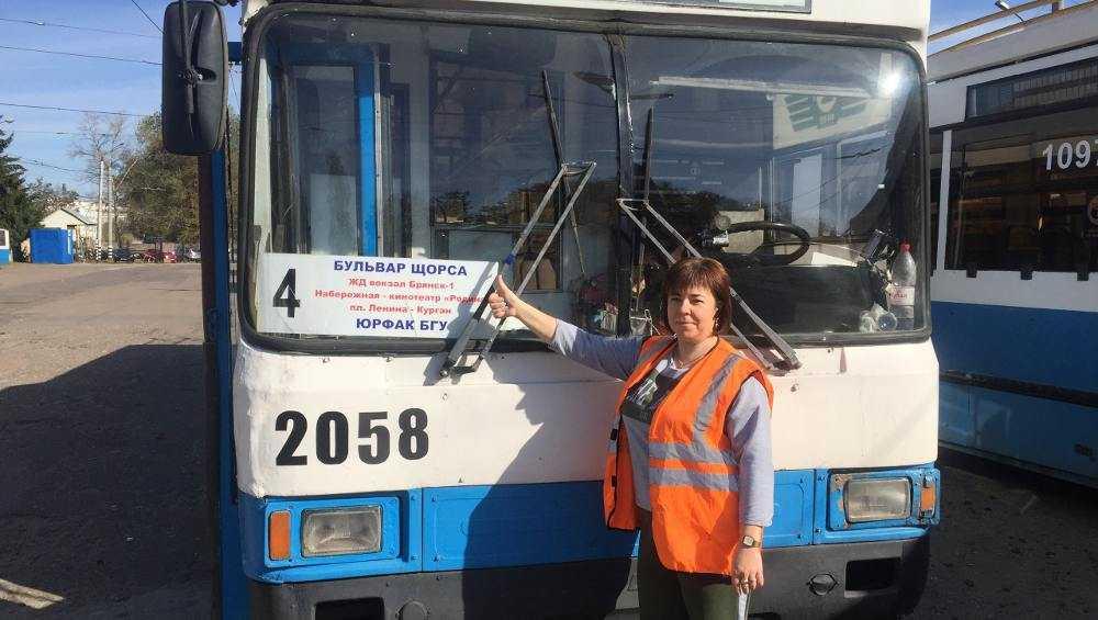 В Брянске продлили маршрут троллейбуса № 4