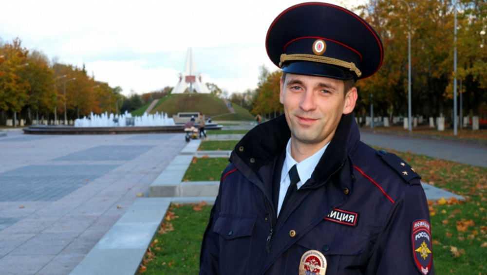 Константин Артамонов второй раз победил в конкурсе брянских участковых