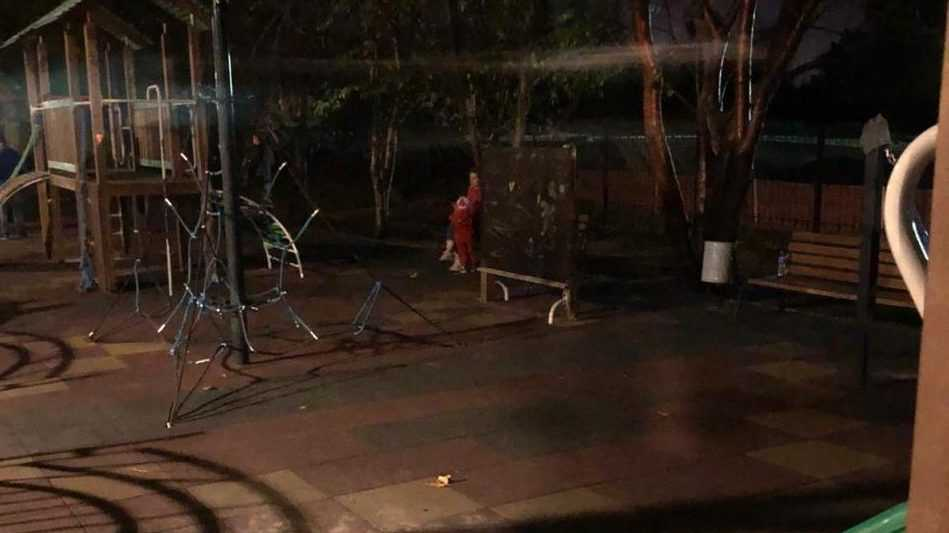 Брянцы попросили осветить детскую площадку возле Кургана Бессмертия