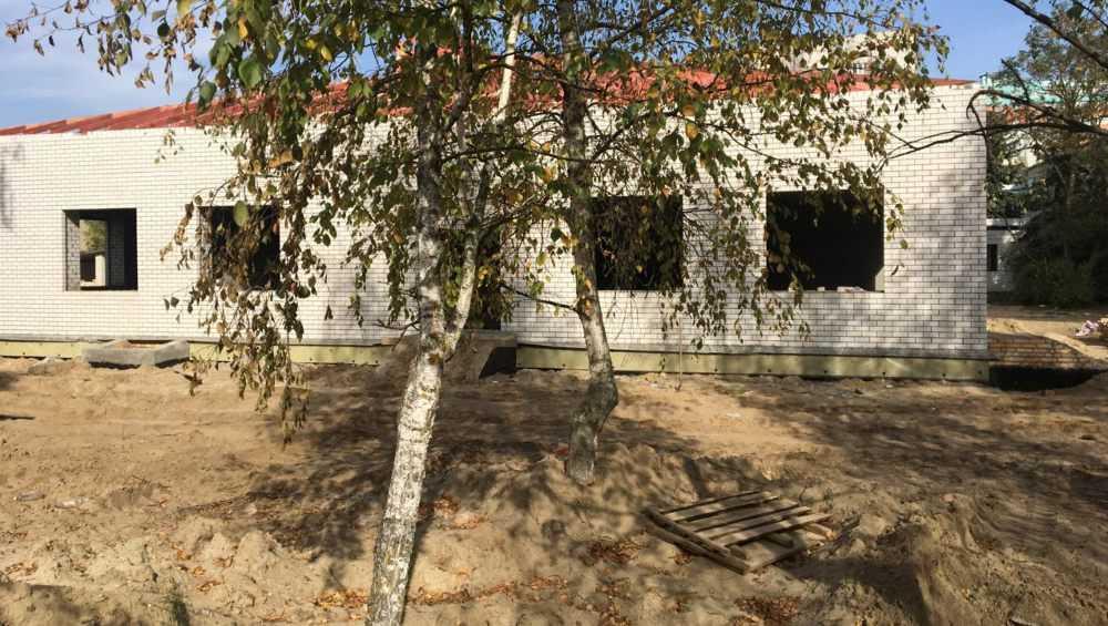 В Брянске развернулось строительство двух ясельных пристроек