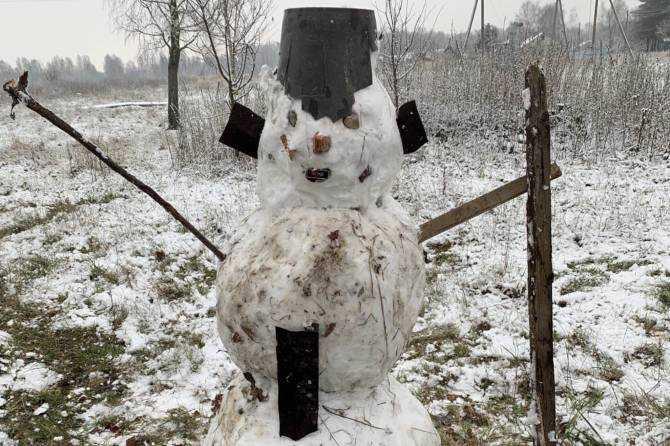 Брянской области в субботу пообещали мокрый снег и 5-градусное тепло