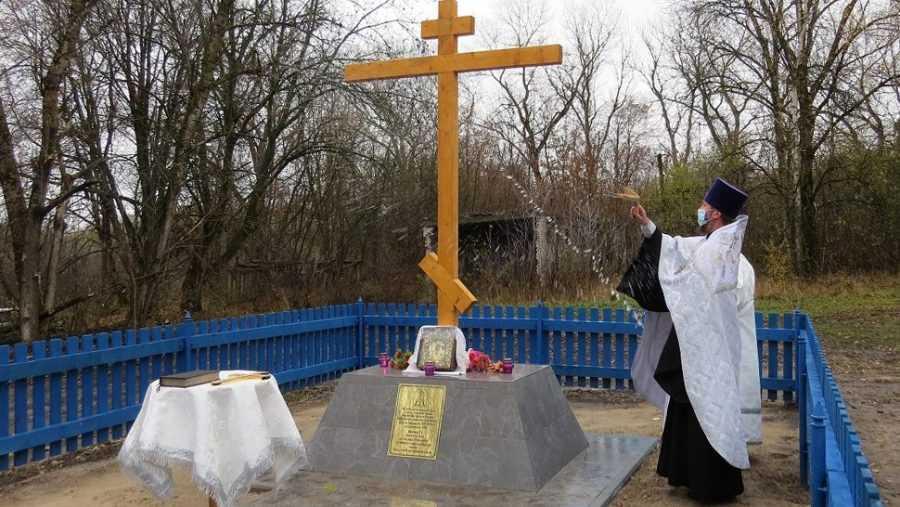 Роман Мимонов помог в обустройстве памятного исторического места в селе Ружное