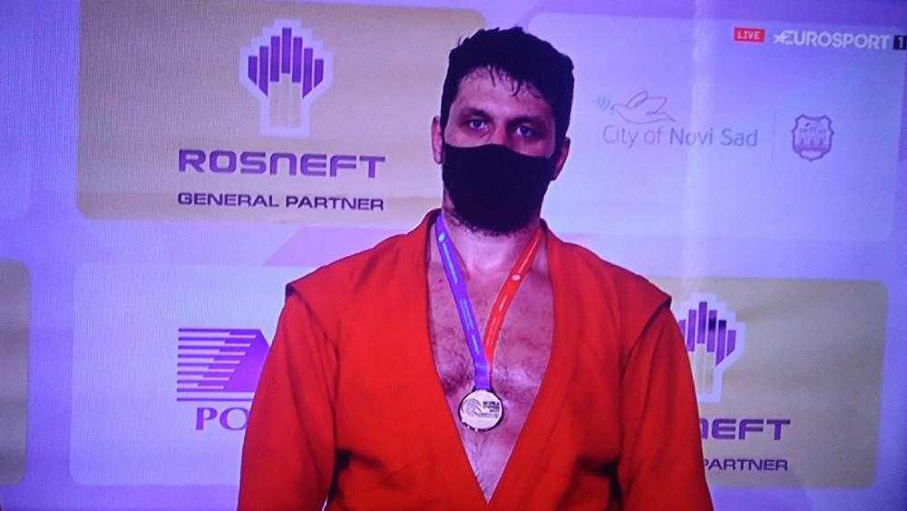 Артем Осипенко стал десятикратным чемпионом России по самбо