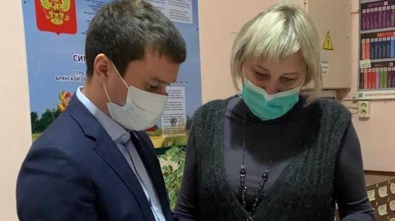 Подарки для общества слепых и Дятьковской библиотеке передал Сергей Перепелов