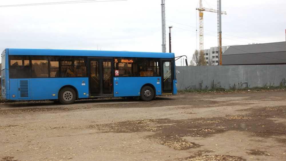 В Брянске до посёлка Чайковичи продлят маршрут автобуса № 25