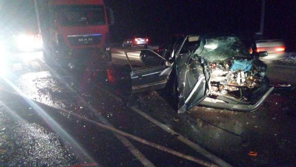 В ДТП под Карачевом пострадал молодой водитель и два его пассажира