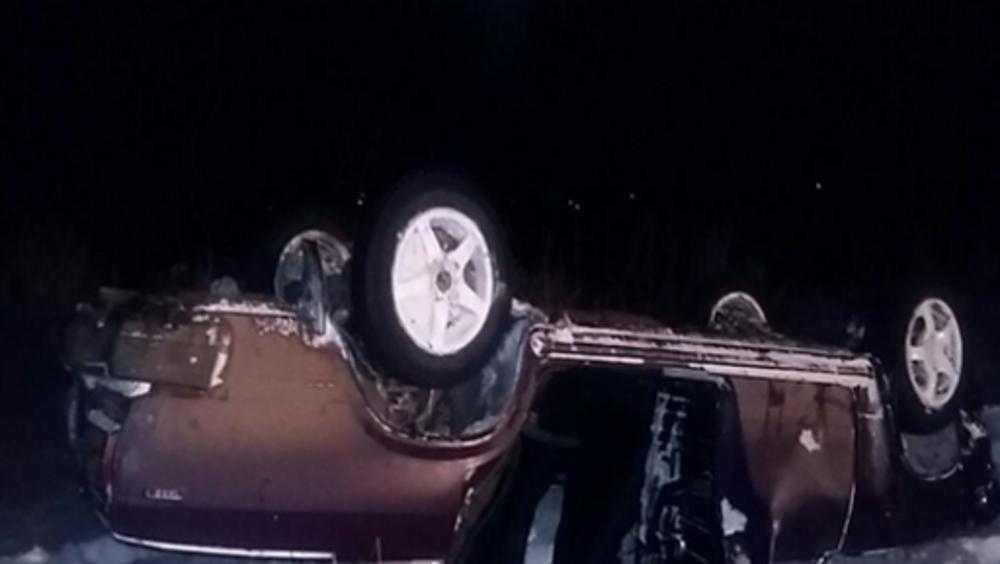 В Брянской области покалечились двое слетевших в кювет водителей