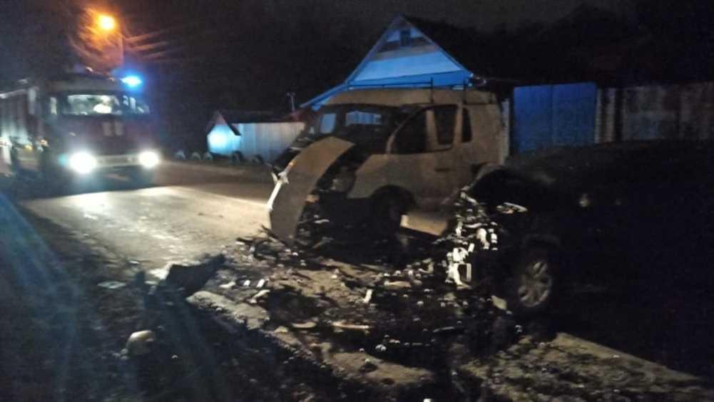 В Клинцах Брянской области в массовом ДТП пострадали три человека