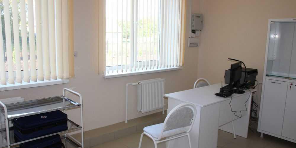В новом брянском ФАПе построили жилую зону для врачей