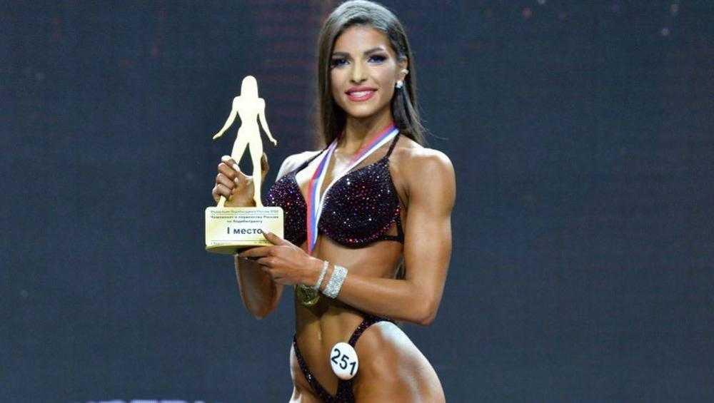 Появилось видео триумфа брянской культуристки Милины Минасян