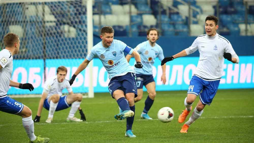 Брянские динамовцы проиграли в Нижнем Новгороде со счетом 0:3