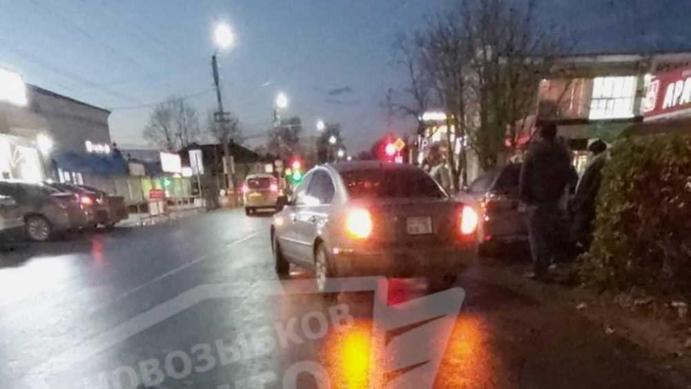 В Новозыбкове не поделили дорогу две автомобилистки