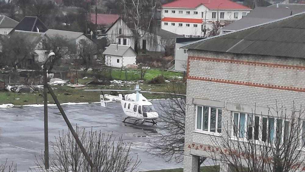 Санитарная авиация выполнила первый вылет в Брянской области