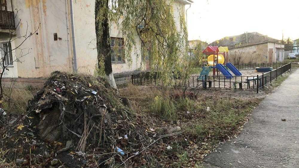 В Фокино свалкам нашли место возле детских площадок