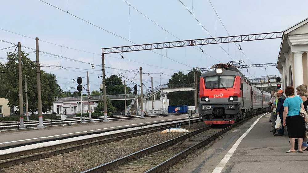 В Брянск пустят дополнительные поезда из Москвы на Новый год
