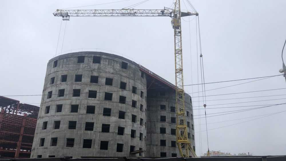 «МегаГринн» в Брянске начал строиться ударными темпами