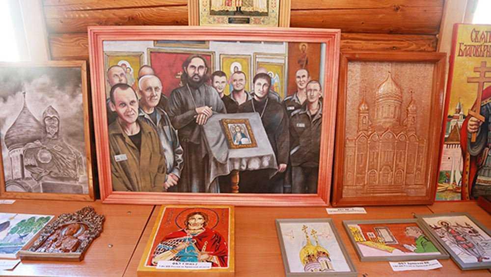 Брянские осужденные занялись православной живописью