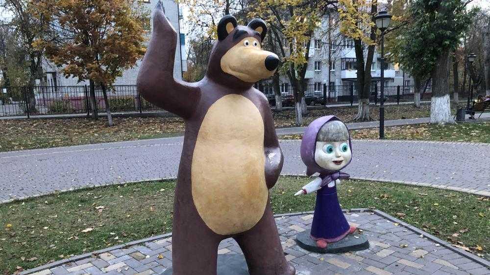 Кража добавила популярности брянским Маше и Медведю