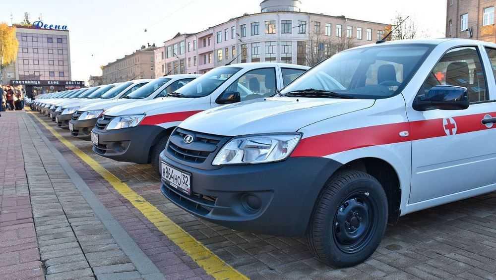 Брянская область приобрела 62 санитарных автомобиля