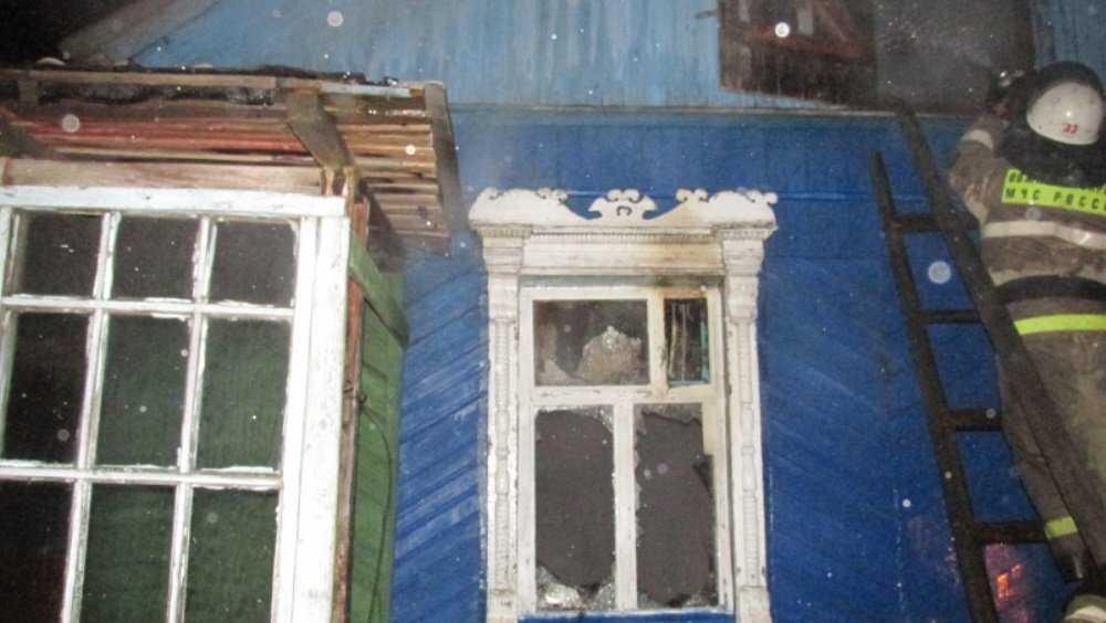 В Глаженке Брянского района сгорел жилой дом – пострадал человек