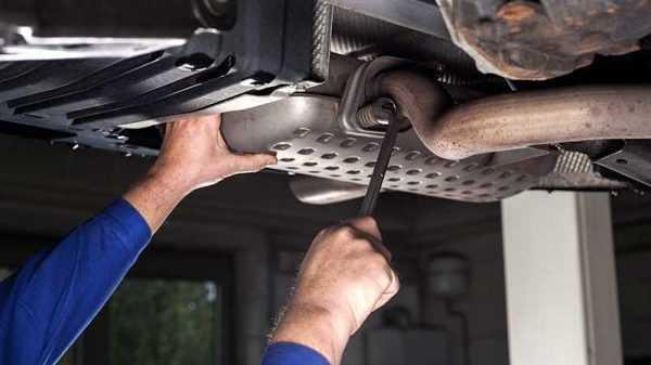 Когда требуется ремонт или замена выхлопной системы