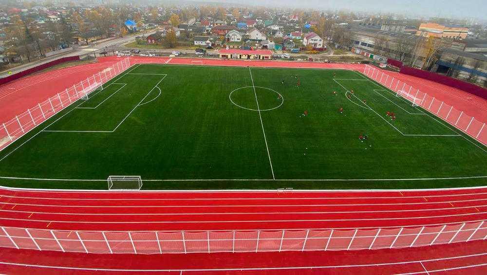 В Брянске на обновленном стадионе «Спартак» начались тренировки