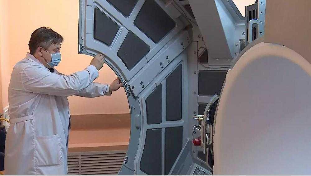 Брянский онкодиспансер установил аппарат с расширенными возможностями