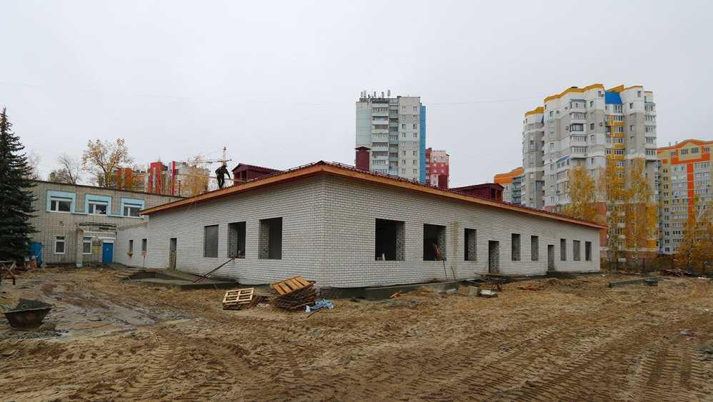 В Брянске ясли для детсада «Голубые дорожки» построят до конца года