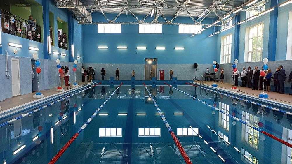 Новый бассейн в Климове стал радостью для детей и родителей