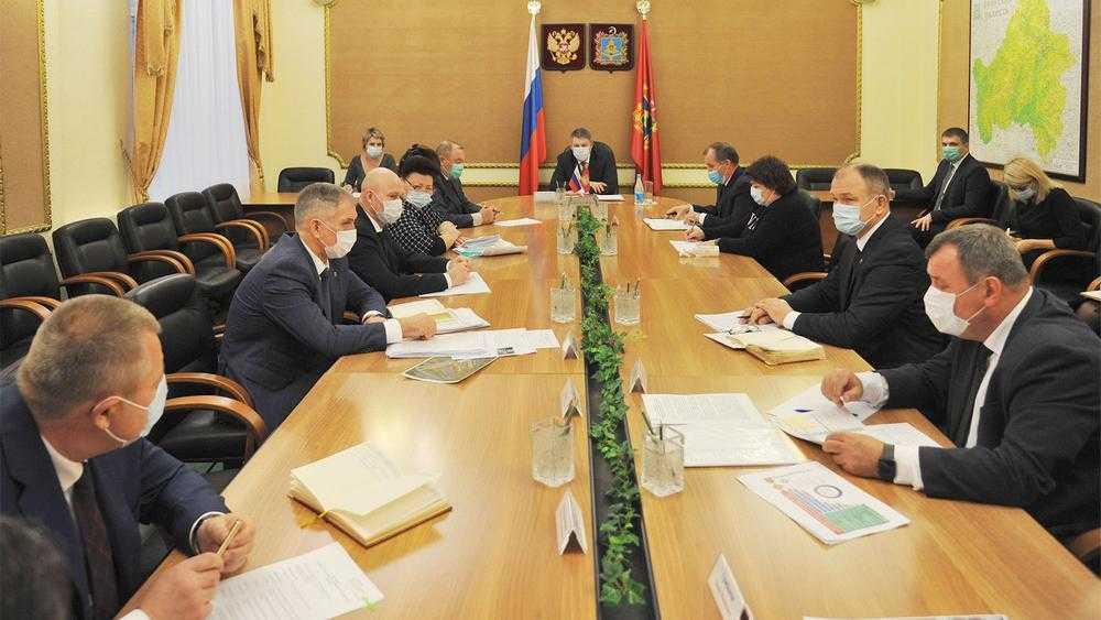 В Брянской области губернатор утвердил новый президиум правительства