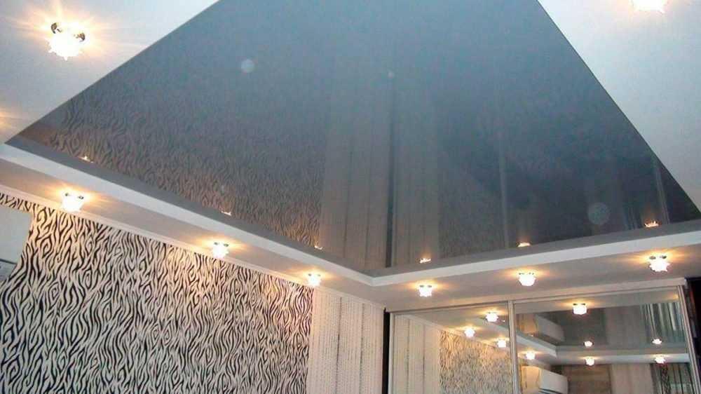 Натяжные потолки как популярная отделка