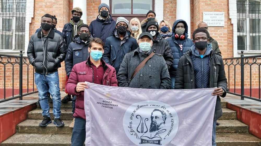 Иностранные студенты Брянска посетили музей-усадьбу Толстого